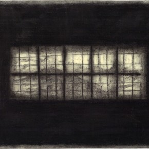 Window 28.5x17.5cm ink charcoal on paper 2013 290x290 More images