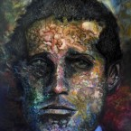 9 Zelf portret via Gavrilo Princip 200x160cm acryl op linnen 2012 145x145 More images