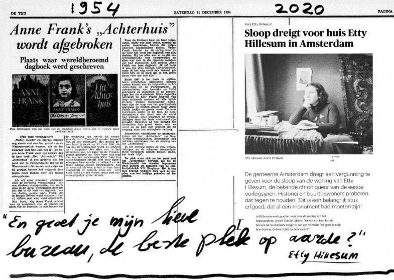 Etty Hillesum en Anne frank a 785x559 .